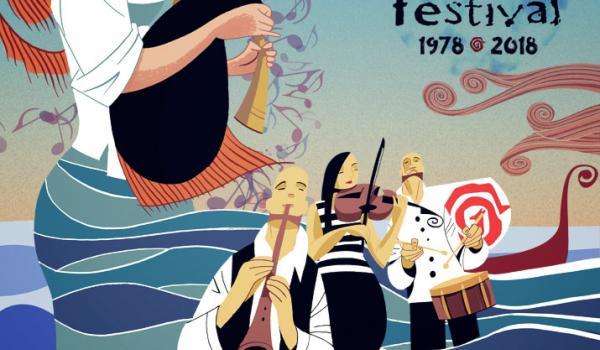 Cartel Festival Ortigueira 2018