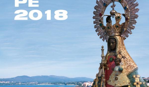 cartaz cartel festas guadalupe 2018 Rianxo