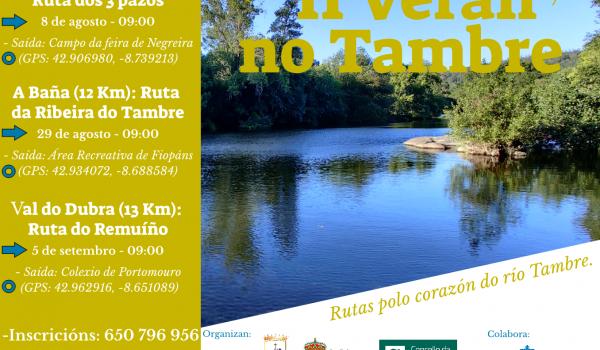 rutas, sendeirismo, senderismo, río Tambre, Negreira, A Baña, Val do Dubra,
