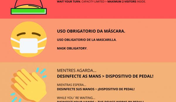 Oficina Turismo Ézaro & covid19