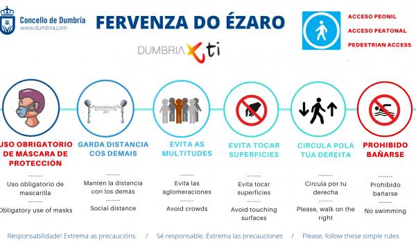 Fervenza do Ézaro & covid19
