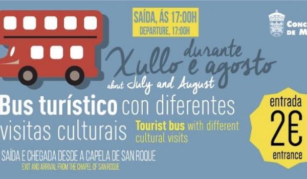 Bus turístico de Melide y comarca