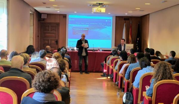 A Deputación da Coruña comparte co persoal dos concellos a súa plataforma de promoción turística