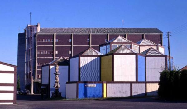 Fábrica de Sargadelos en O Castro, Sada
