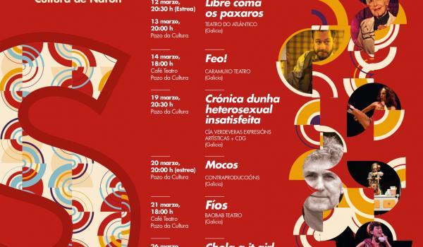 Cartaz VI Festival Internacional do Monólogo Teatral Singular