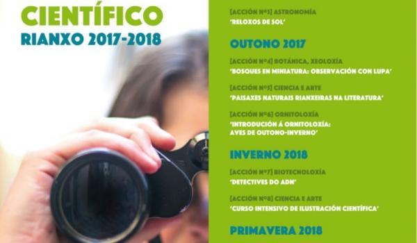 "Programación turismo científico ""Observer 2017 2018"""