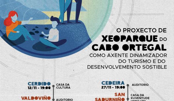 Listado das xornadas informativas do proxecto de Xeoparque do Cabo Ortegal