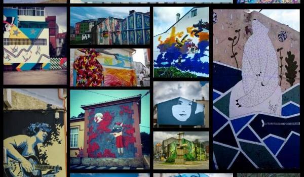 "Collage ""Derrubando muros"""